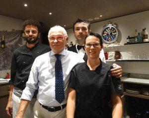 Carlo Gatti e il suo staff
